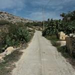 Malta: powrót z Mġarr ix-Xini do Għajnsielem, Gozo