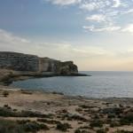 Dwejra: z widokiem na Fungus Rock