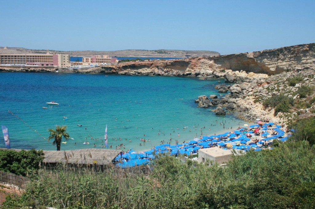 Malta: Paradise Bay; autor zdjęcia: David Locke
