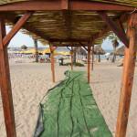 Malta: bar na plaży Armier Bay