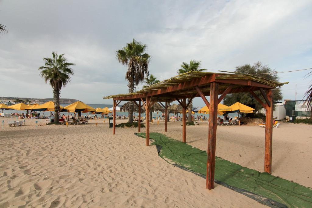 Malta: plaża Armier Bay