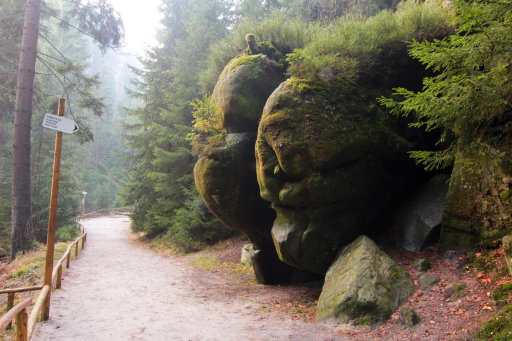 Czechy: Teplickie Skalne Miasto, Głowa Konia