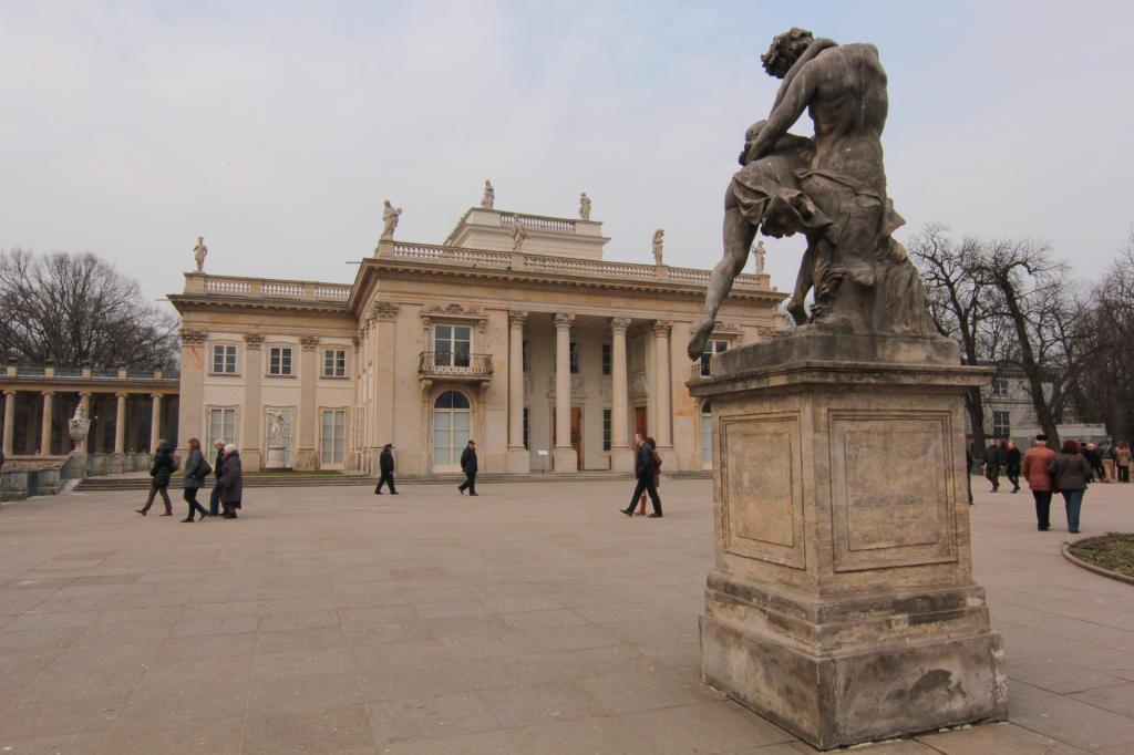 Warszawa: Łazienki Królewskie, Pałac Królewski