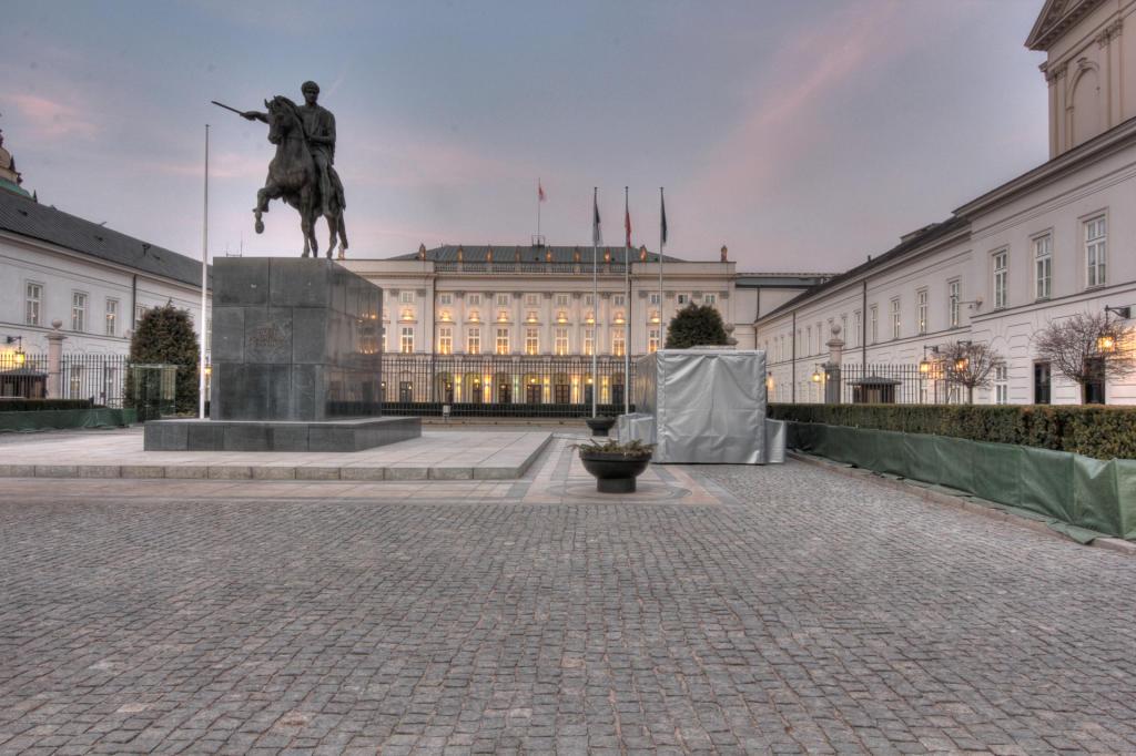 Warszawa: Pałac Prezydencki