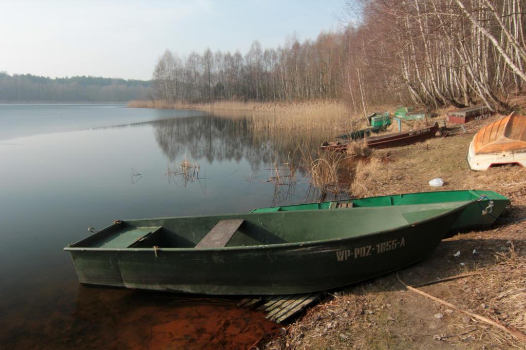 Puszcza Zielonka, jezioro Kamińskie