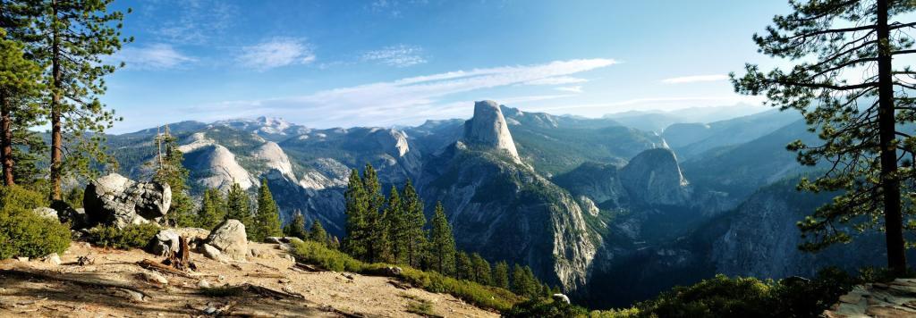 Park Narodowy Yosemite, formacja skalna Half Dome. Autor zdjęcia: Don J Schulte
