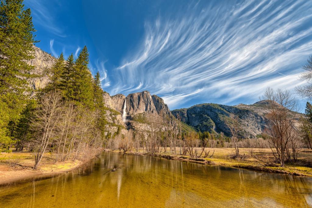 Park Narodowy Yosemite, wodospad Yosemite. Autor zdjęcia: Nietnagel
