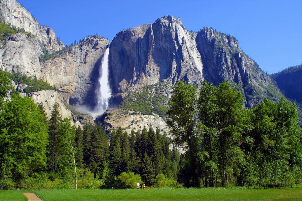 Park Narodowy Yosemite, wodospad Yosemite. Autor zdjęcia: webmink