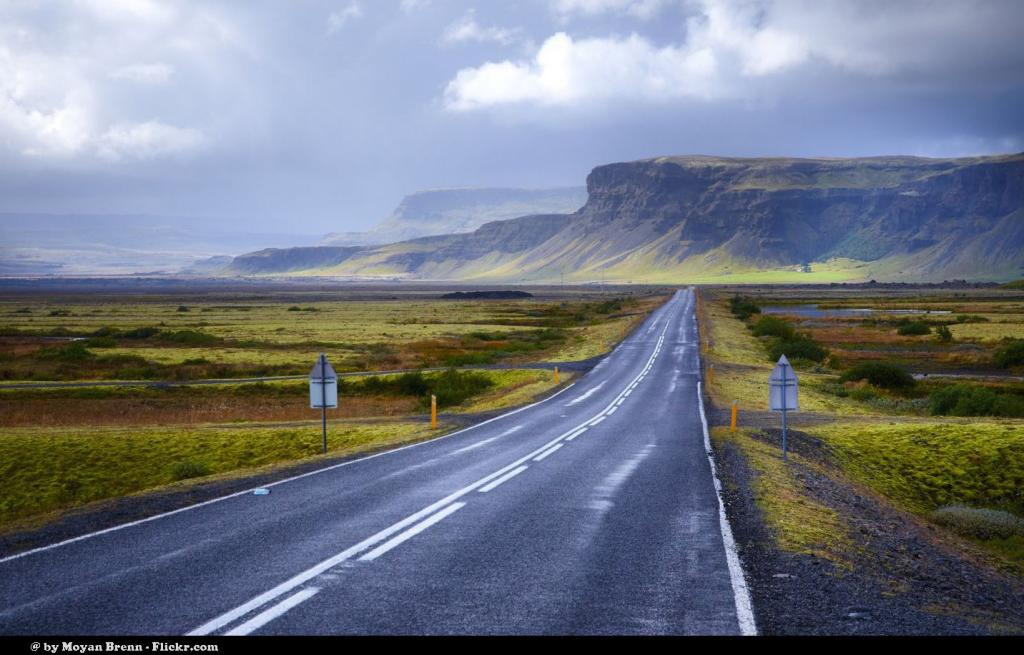 Islandia, droga na wschód od Vik. Autor zdjęcia: Moyan Brenn.