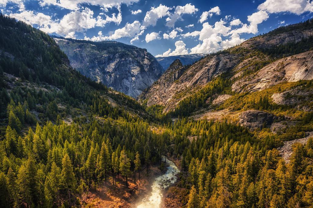 Park Narodowy Yosemite, wodospad Nevada. Autor zdjęcia: Nietnagel