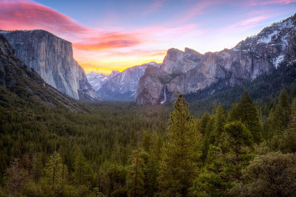Park Narodowy Yosemite, Yosemite Valley. Autor zdjęcia: Jeff Krause