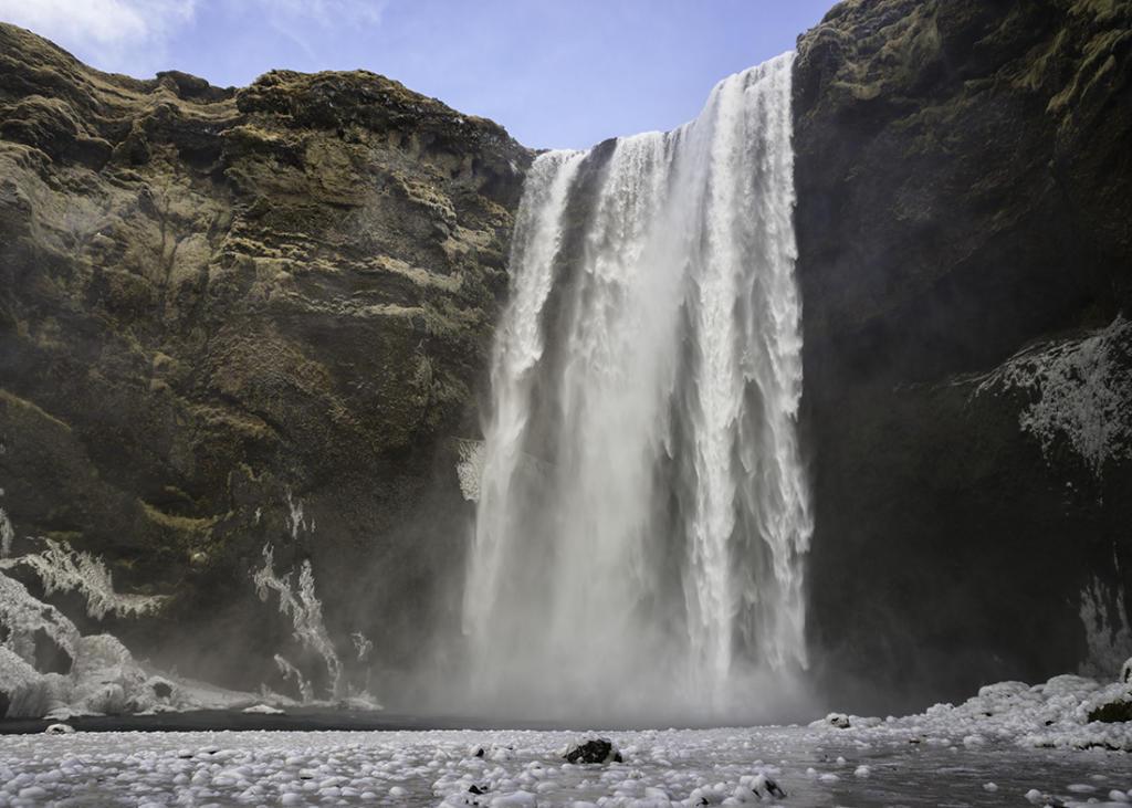 Islandia, wodospad Skogafoss. Autor zdjęcia: Kris Williams.