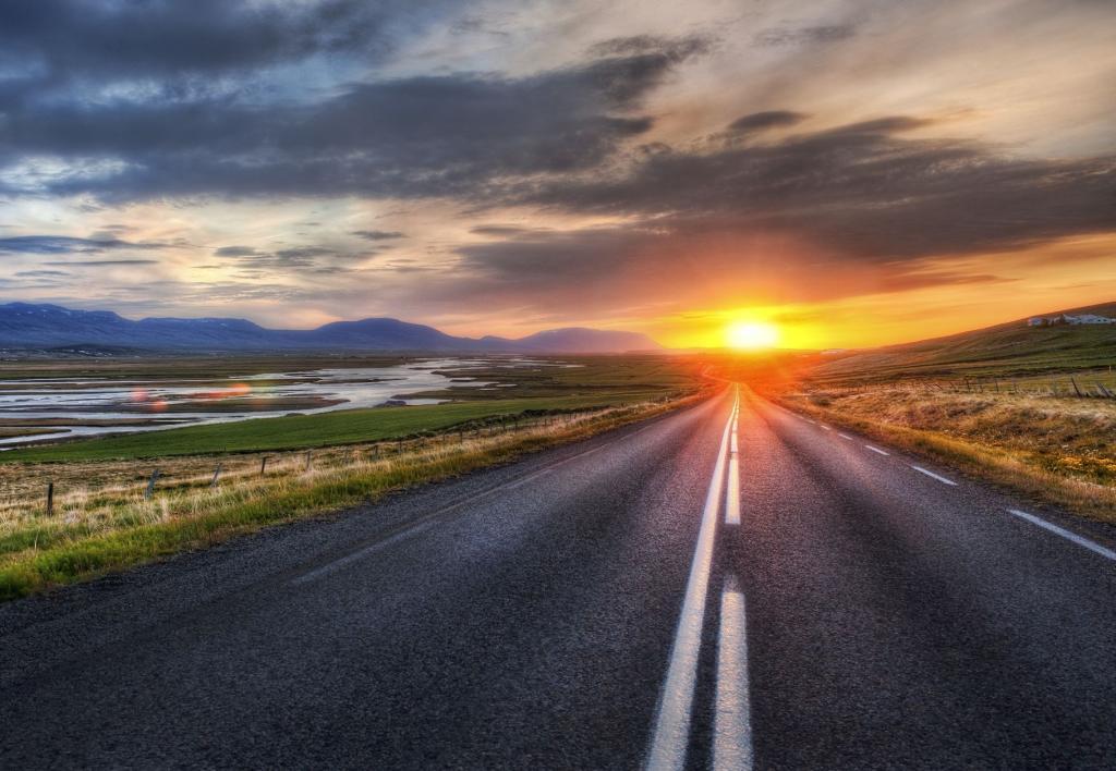 Islandia, Droga 1. Autor zdjęcia: Trey Ratcliff.
