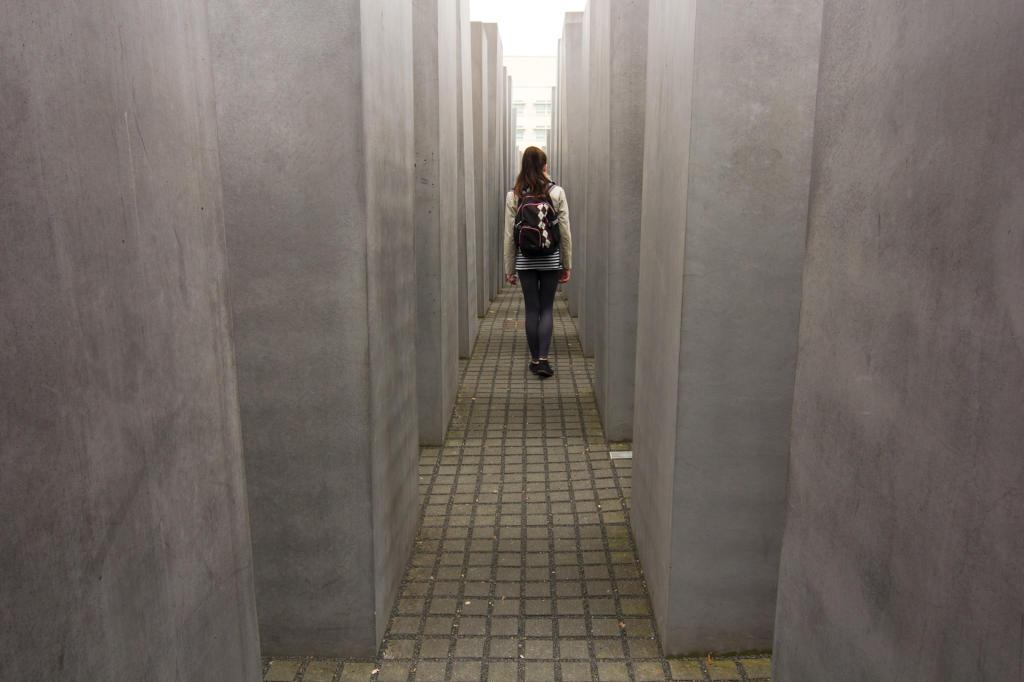 Berlin, Pomnik Pomordowanych Żydów Europy