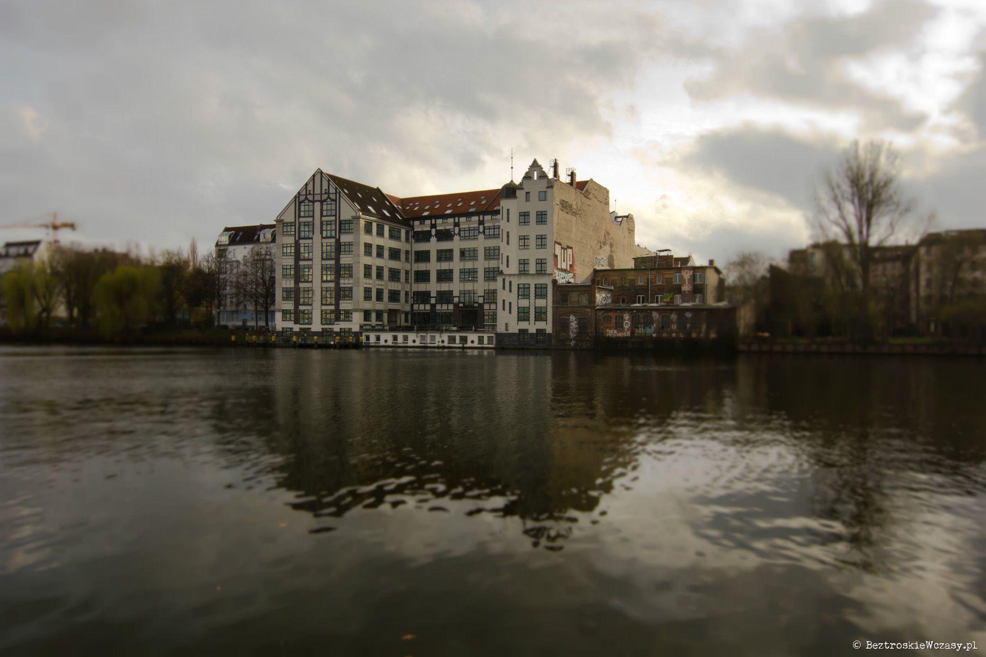Berlin, rzeka Sprewa
