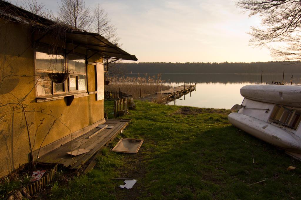 Poznań, okolice jeziora Strzeszyńskego