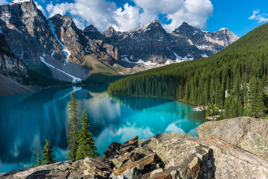 Park Narodowy Banff: jezioro Moraine. Autor zdjęcia: Karl Johnson