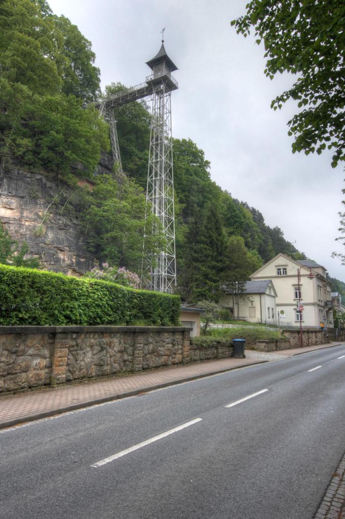 Saska Szwajcaria: wieża widokowa w Bad Schandau