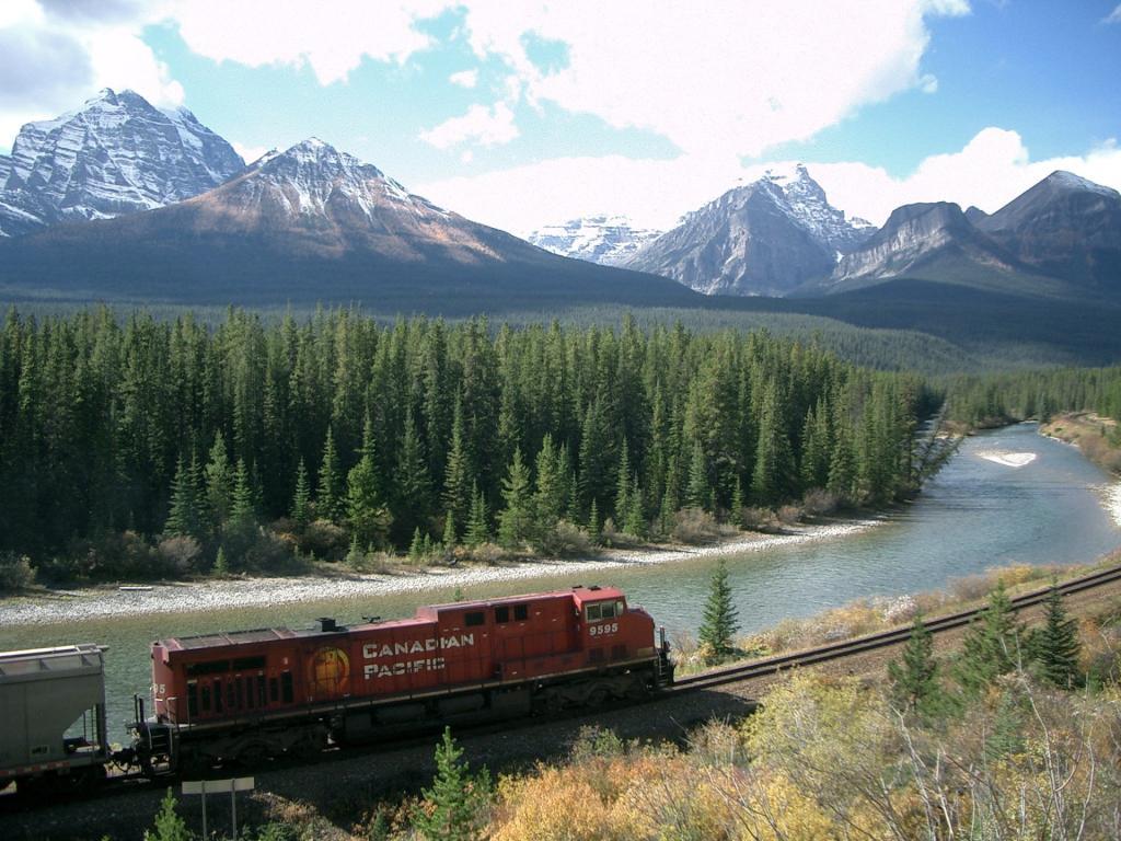 Park Narodowy Banff: Canadian Pacific Railway. Autor zdjęcia: Steve Jurvetson