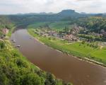 Rowerem przez Saską Szwajcarię