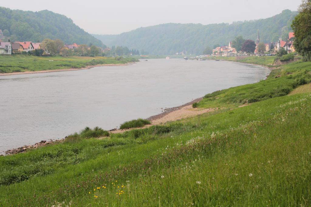 Saska Szwajcaria: droga do Pirny