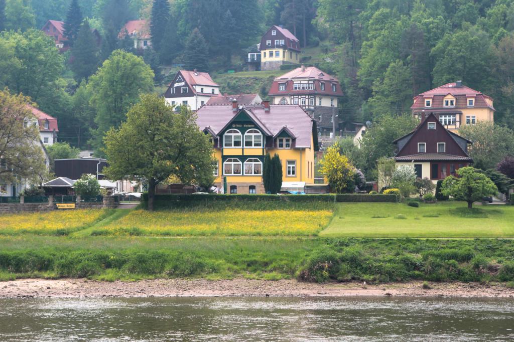Saska Szwajcaria: Stadt Wehlen