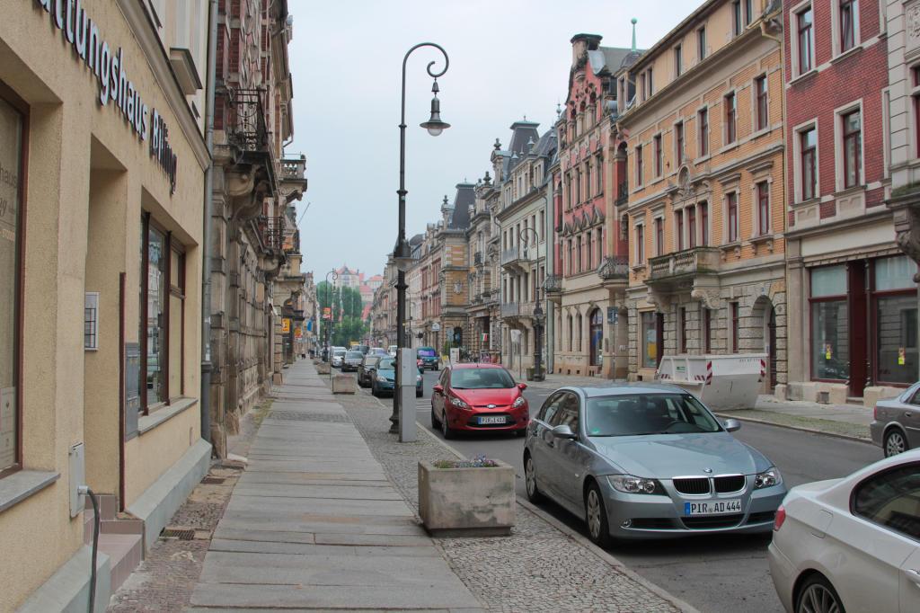 Saska Szwajcaria: klimatyczne uliczki Pirny
