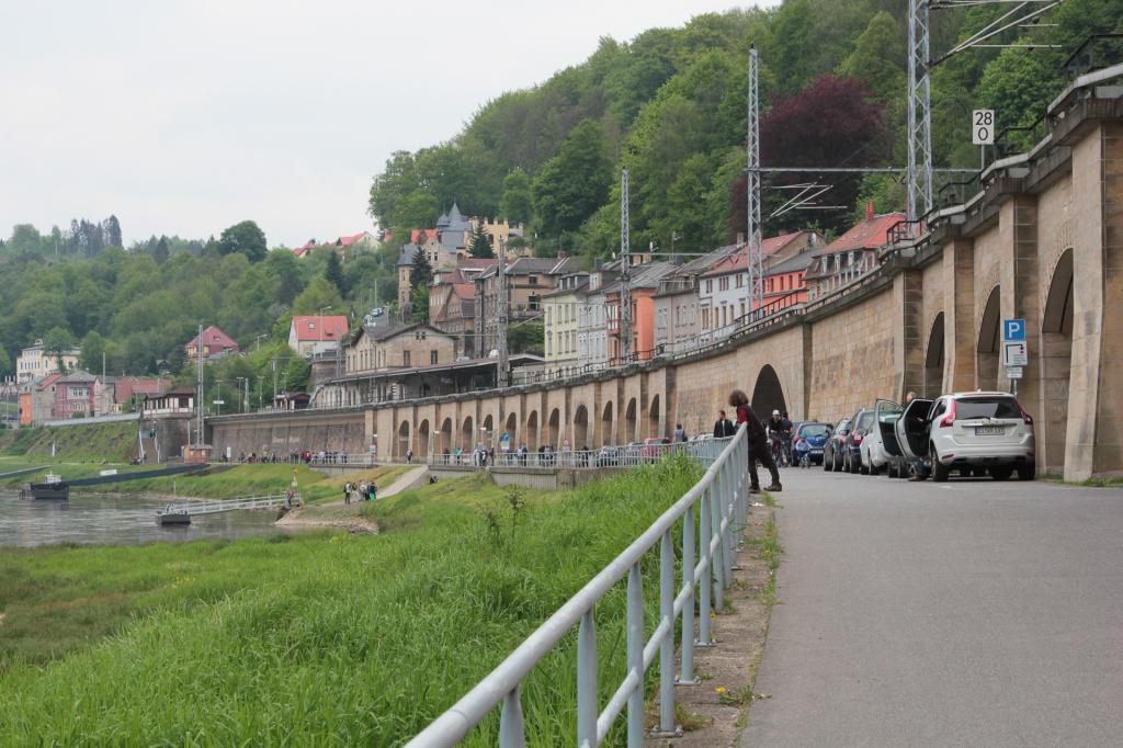 Saska Szwajcaria: wjazd do Koenigstein