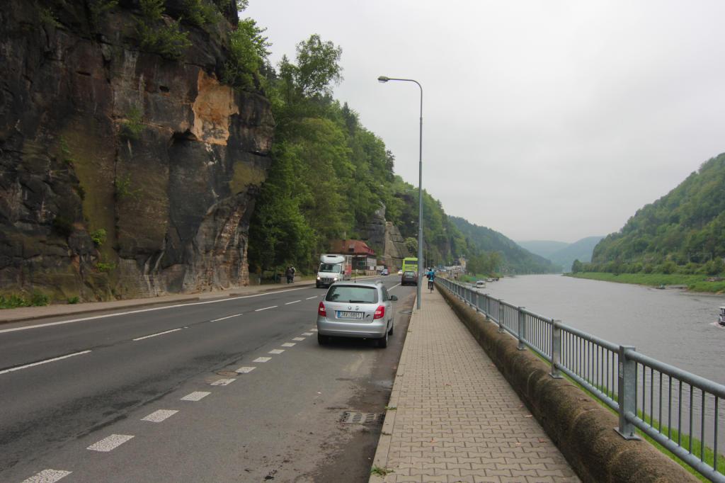 Saska Szwajcaria: Hřensko w Czechach