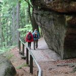 Czeska Szwajcaria: w drodze do bramy Pravčickiej