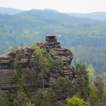 Czeska Szwajcaria: widok na Mariina skála