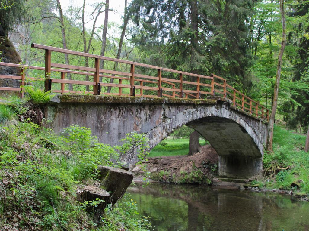 Romantyczny szlak wzdłuż Kamienicy
