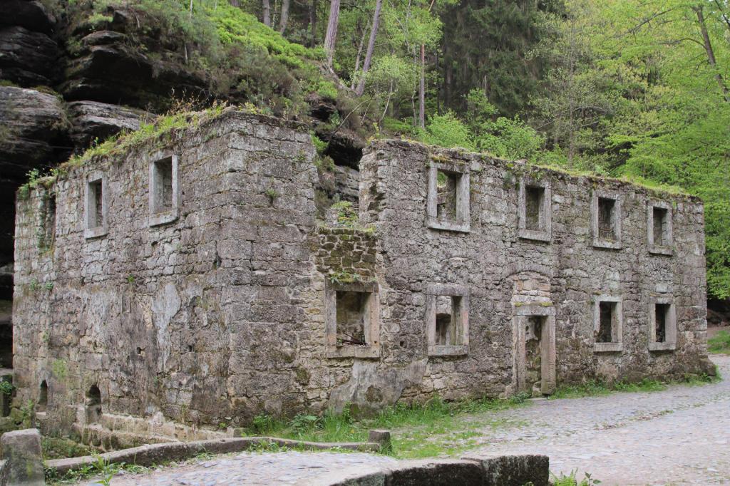 Czeska Szwajcaria: Dolský mlýn