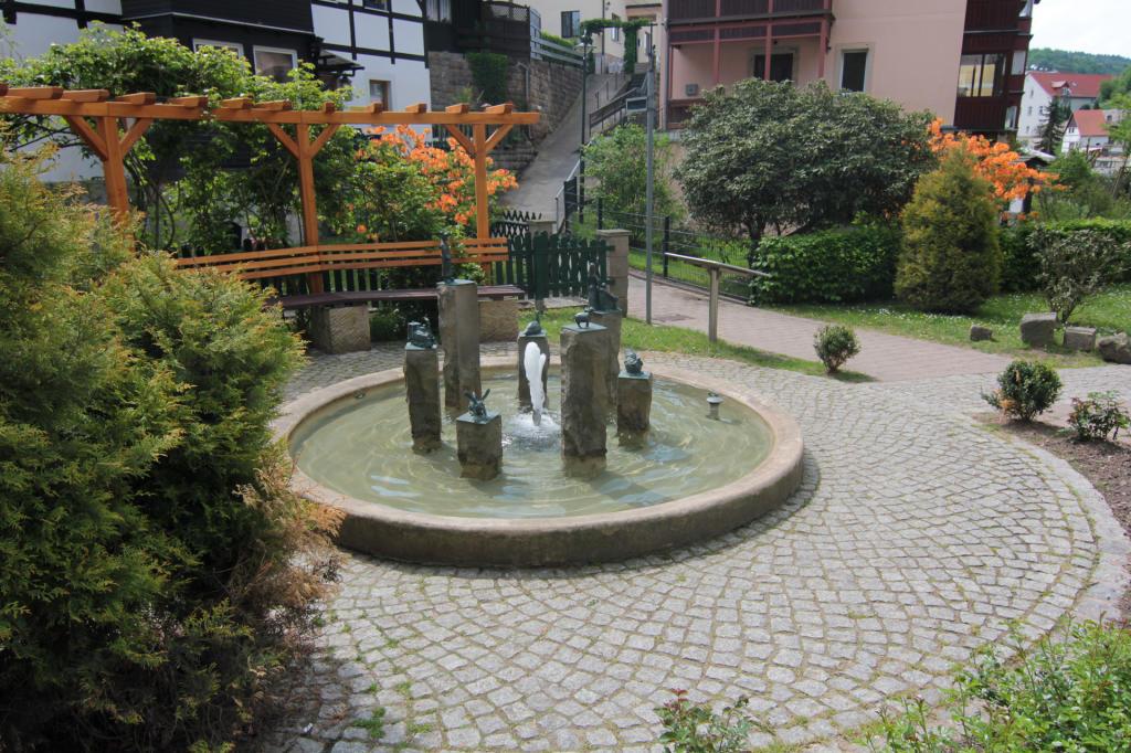 Saska Szwajcaria: centrum Rathen