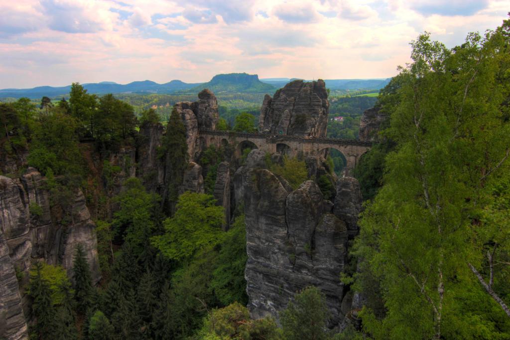 Saska Szwajcaria: Bastei