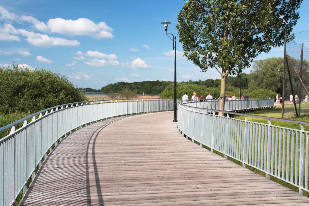 Most przy jeziorze Swarzędzkim