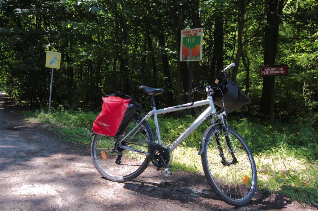 Wielkopolski Park Narodowy, wjazd od strony Szreniawy