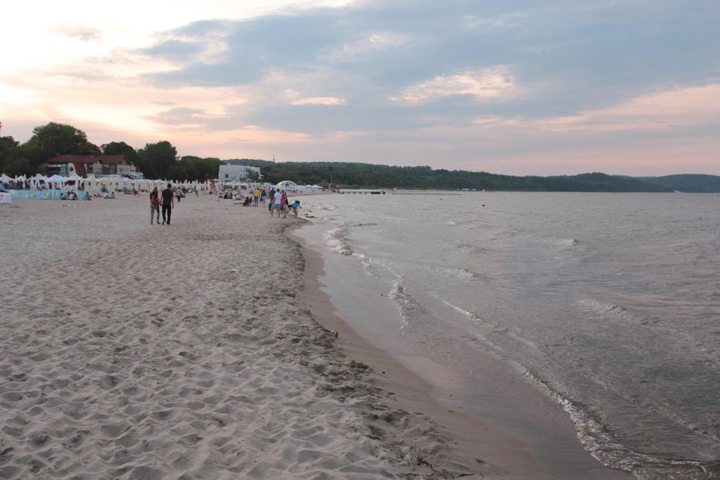 Sopot: plaża