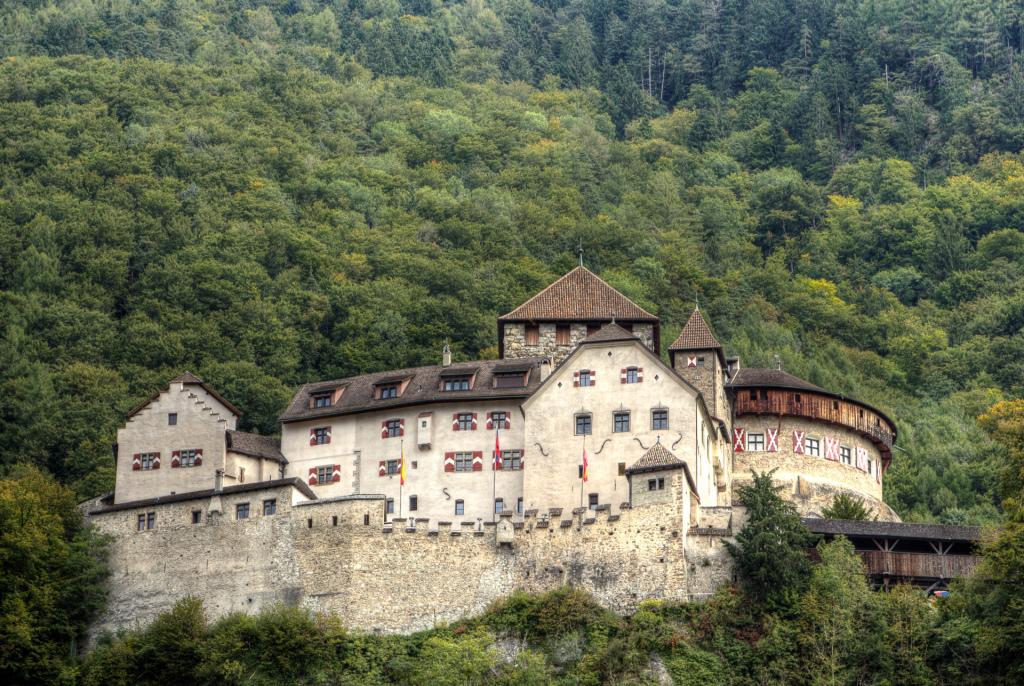 Liechtenstein: zamek w Vaduz