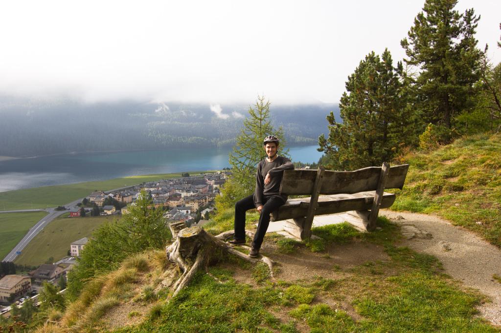 Szwajcaria: okolice Sankt Moritz