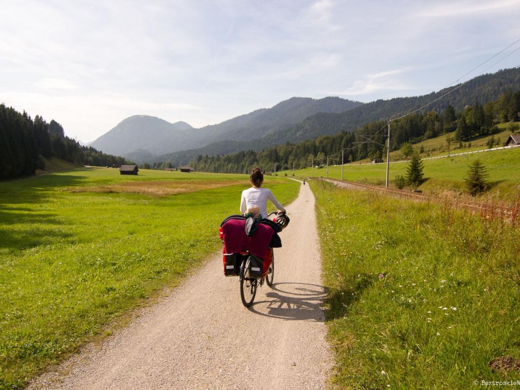 Rowerem przez Alpy