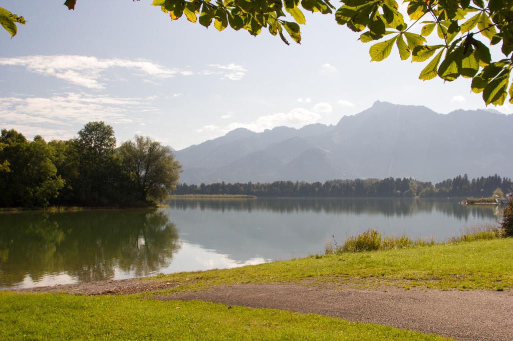 Niemcy: jezioro Forggensee