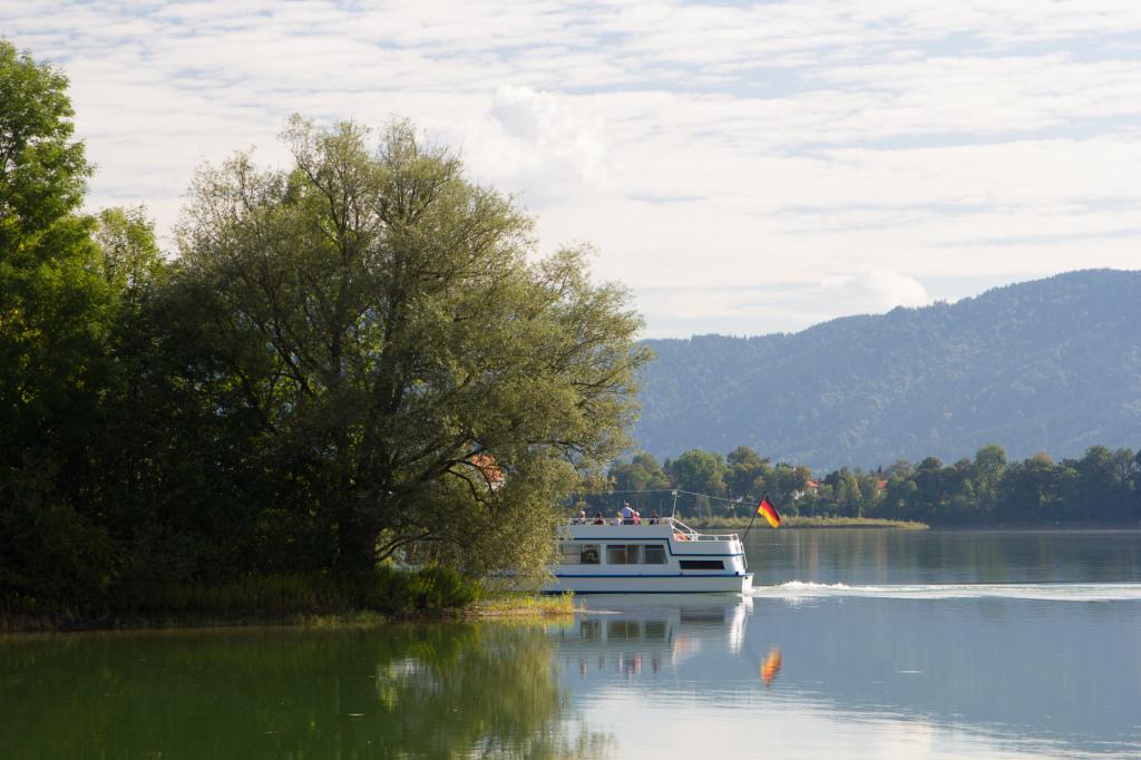 Niemcy: rejs wycieczkowy po jeziorze Forggensee w Füssen