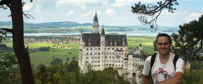 W krainie bajek – zamek na wzgórzu w Füssen
