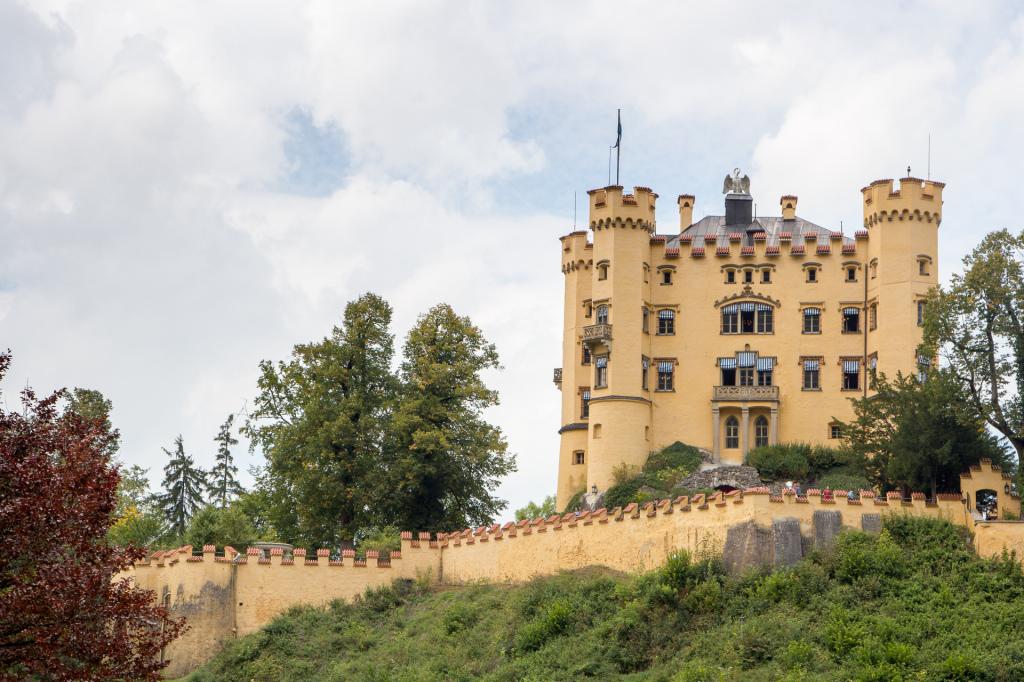Niemcy: zamek Hohenschwangau
