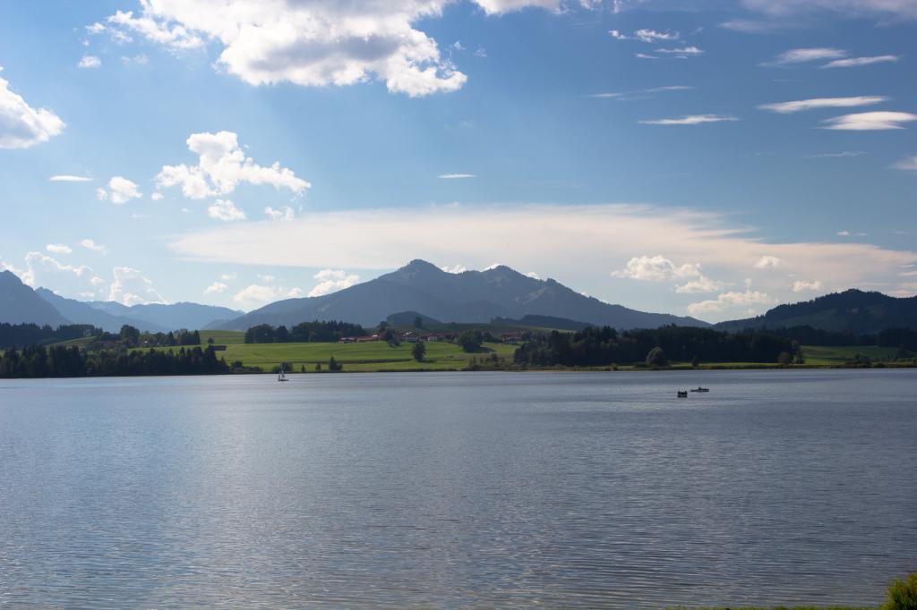 Niemcy: jezioro Hopfensee