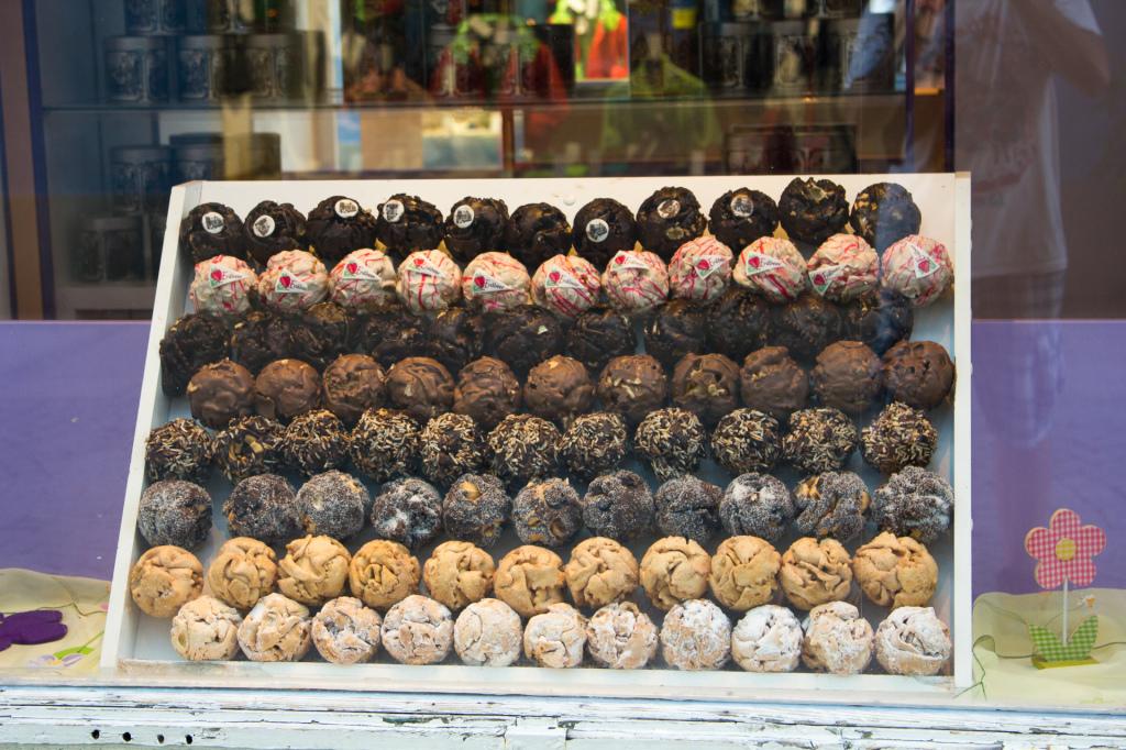 Niemcy: sklepik w czekoladami w Füssen