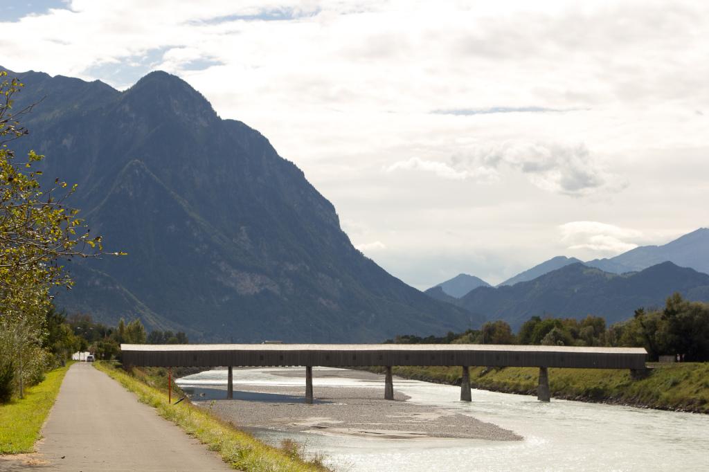 Liechtenstein: przejazd do Szwajcarii