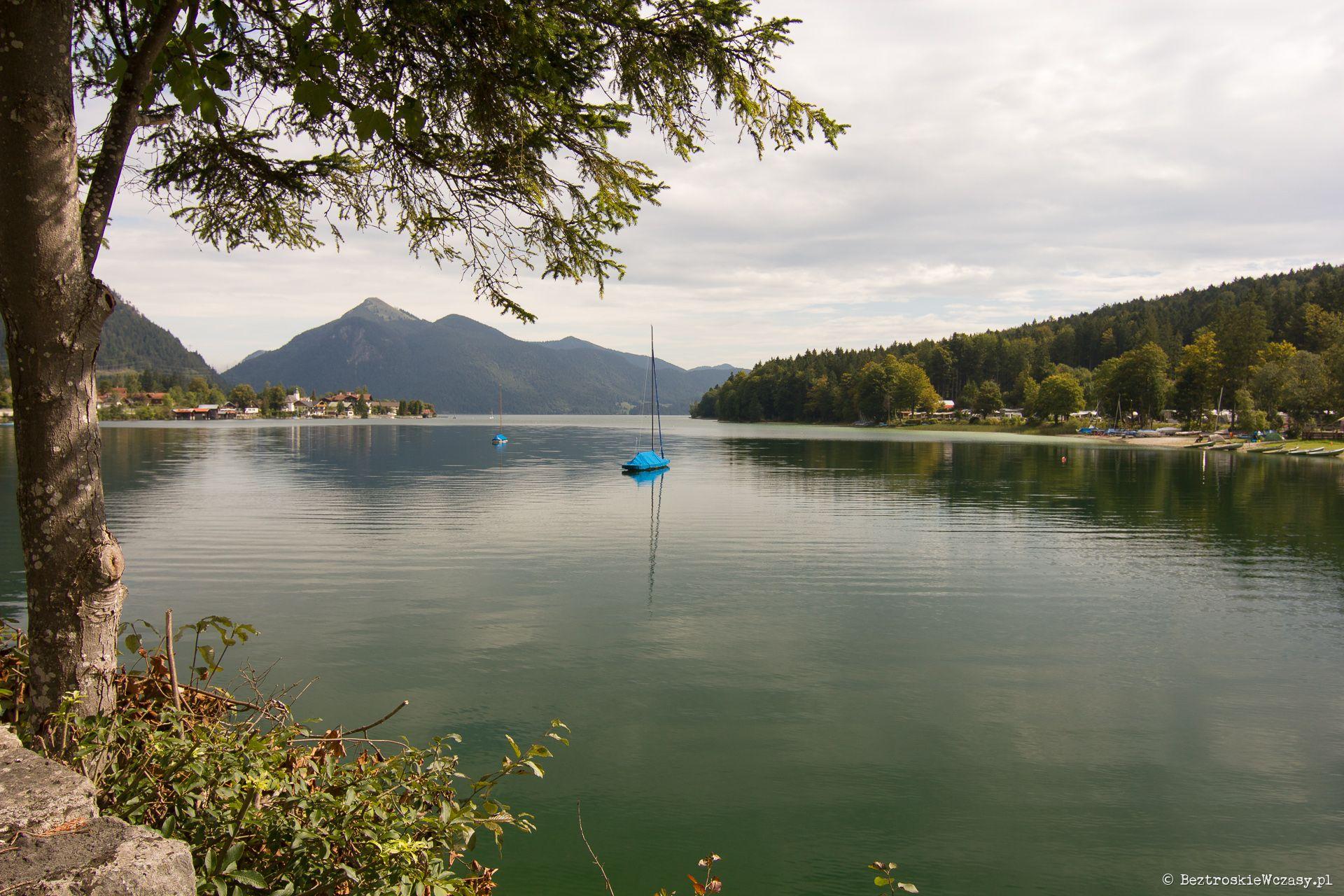 Niemcy: jezioro Walchensee