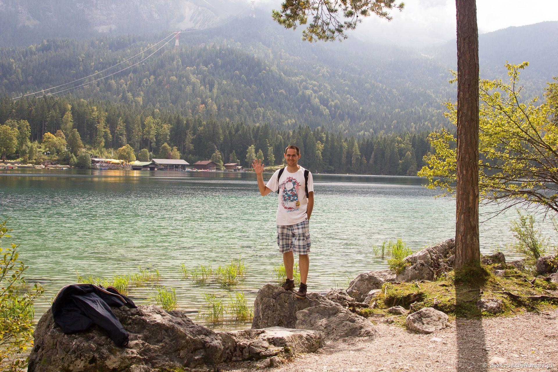 Niemcy: jezioro Eibsee